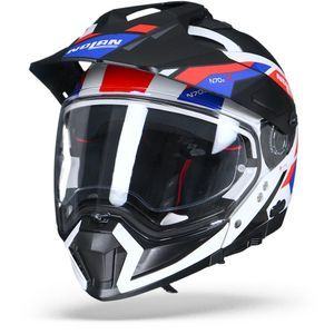 Nolan N70-2 X Grandes Alpes 26 Metal White Blue Red
