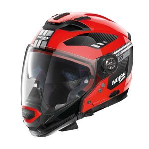 Nolan N70-2 GT Bellavista 25 Corsa Red Black
