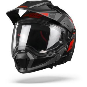 Nolan N70-2 X Decurio 29 Flat Black Red Anthracite