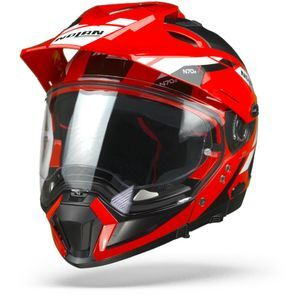 Nolan N70-2 X Grandes Alpes 28 Corsa Red Black