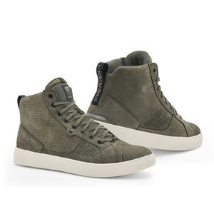 REV'IT! Arrow Chaussures De Moto Vert Olive Blanc
