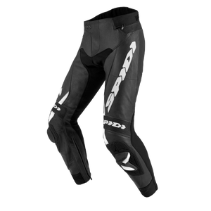 SPIDI RR PRO 2 SHORT BLACK WHITE MOTORCYCLE PANTS