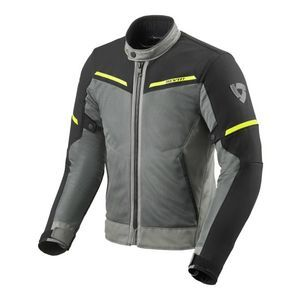 REV'IT! Airwave 3 Chaqueta Motorista Gris Negro