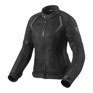 REV'IT! Torque Lady Chaqueta Motorista Para Mujer Negro