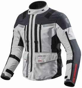 REV'IT! Sand 3 Chaqueta Motorista Plata Antracita