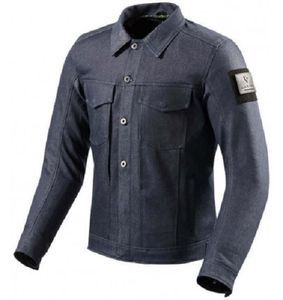 REV'IT! Crosby Medium Chaqueta Motorista Azul