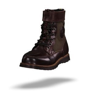 REV'IT Royale H2O Bottes De Moto Marron - Olive