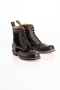 ROKKER Frisco Brogue Schwarz