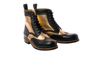 ROKKER Frisco Brogue Limited Edition Black Gold