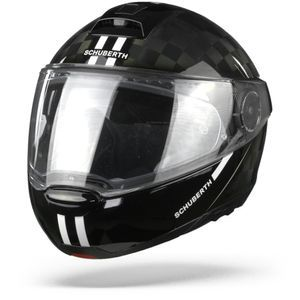 Schuberth C4 Pro Carbon Fusion Casque Modulable Blanc