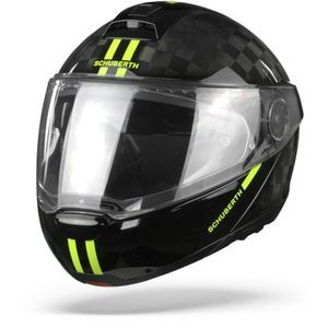 Schuberth C4 Pro Carbon Fusion Casque Modulable Jaune