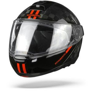Schuberth C4 Pro Carbon Fusion Casque Modulable Rouge
