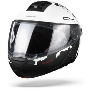 Schuberth C4 Pro Women Magnitudo Casque Modulable Blanc