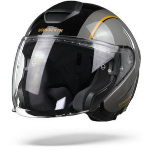 Schuberth M1 Pro Outline Casque Jet Noir