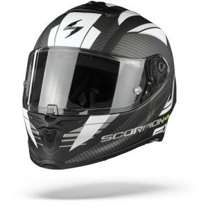 Scorpion EXO-R1 Air Halley Matt Black White