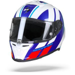 Scorpion EXO-R1 Air Corpus White Blue Red