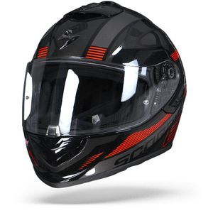 Scorpion EXO-1400 Air Free Metal Black Red