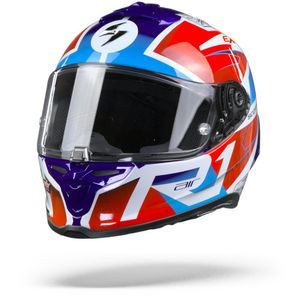 Scorpion EXO-R1 Air Infini White Blue Red