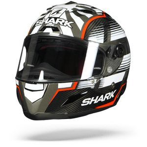 Shark Race-R Pro Carbon Zarco Malaysian Carbon Red Anthracite DRA