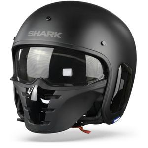 Shark S-Drak 2 KMA Blank Matt Black