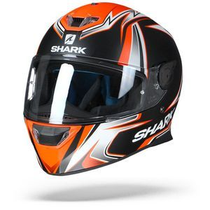 Shark Skwal 2 2019 Sykes KWO Matt Black White Orange