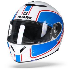 Shark Spartan 1.2 Priona WBR White Blue Red