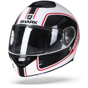 Shark Spartan 1.2 Priona WKR White Black Red