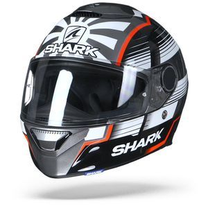 Shark Spartan 1.2 Zarco Malaysian GP AWR Anthracite White Red