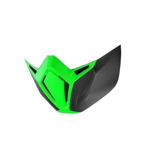 Shark Street Drak Green Mask