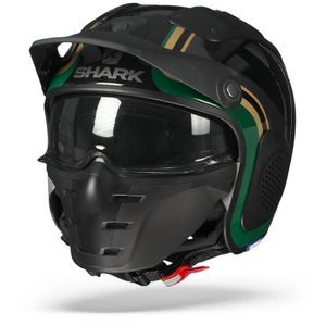 Shark X-Drak Hister KGQ Black Green Gold