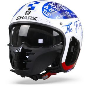 Shark S-Drak 2 Tripp In WBR White Blue Red