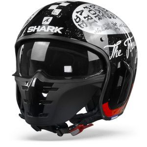 Shark S-Drak 2 Tripp In KWR Black White Red