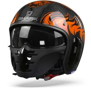 Shark S-Drak 2 Carbon Dagon DOO Carbon Orange Orange