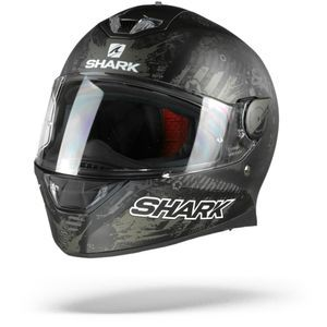Shark Skwal 2 Switch Rider Matt Black Anthracite Silver KAS