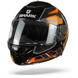 Shark Spartan 1.2 Antheon Black Orange Black KOK
