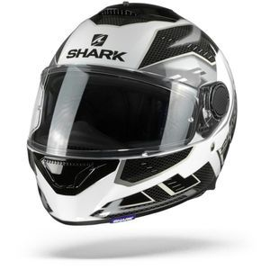 Shark Spartan 1.2 Antheon White Silver Black WSK