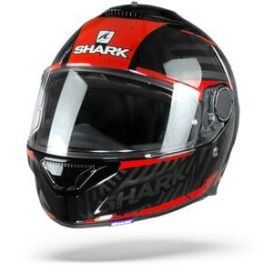 Shark Spartan 1.2 Kobrak Black Red Red KRR