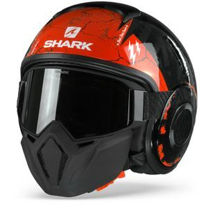 Shark Street Drak Crower Black Anthracite Red KAR