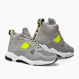 REV'IT! Astro Light Gray Neon Yellow