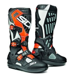 Sidi Atojo SRS White Black Orange Fluo
