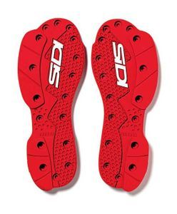 Sidi Soles Supermoto SMS Nr. 46 Red White