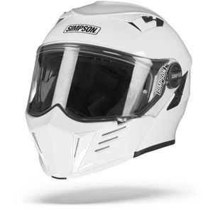 Simpson Darksome Solid White Flip Up