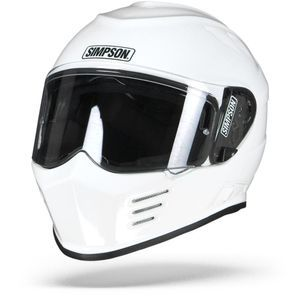 Simpson Venom Solid White