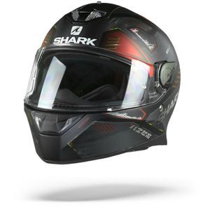 Shark Skwal 2 Venger KAR Matt Black Anthracite Red