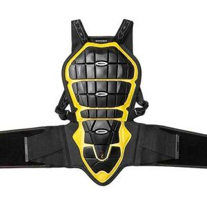 SPIDI BACK WARRIOR 180-195 BLACK YELLOW BACK PROTECTOR