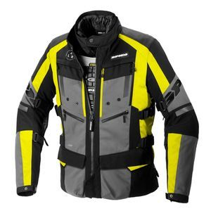 Spidi 4 Season Evo Fluo Yellow Motorcycle Jacket