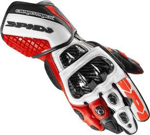 Spidi Carbo Track Evo Black Red White