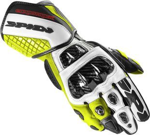 Spidi Carbo Track Evo Black Fluo Yellow