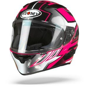 Suomy Speedstar Asymmetric Black Fuchsia White