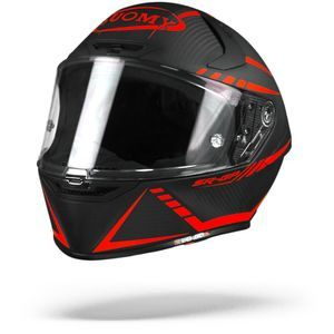 Suomy SR-GP Carbon Supersonic Matt Black Red
